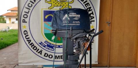 PMA autua dois em R$ 5 mil por pescar durante a piracema no rio Sucuriú