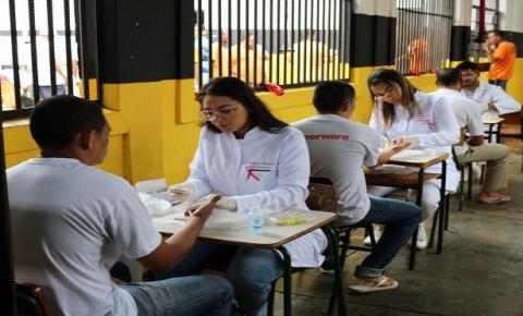 Em atenção à luta contra a Aids, ações alusivas ao Dezembro Vermelho são desenvolvidas nos presídios de MS
