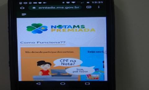 Nota MS Premiada: aplicativo facilita acesso dos consumidores para conferir dezenas