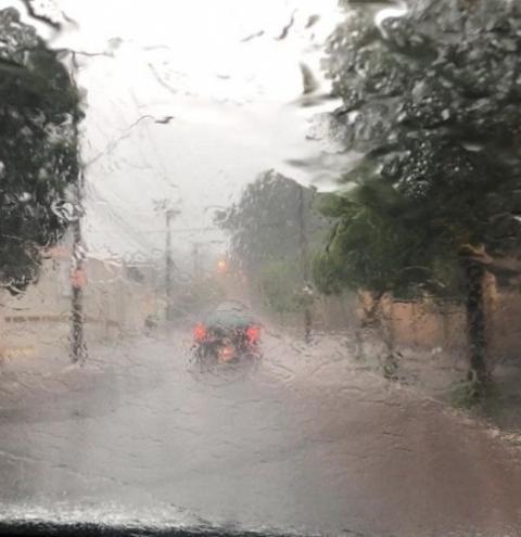 Chuvas intensas devem atingir Anastácio nesta quarta-feira